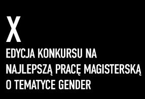 X Konkurs na najlepszą pracę magisterską 2015/2016