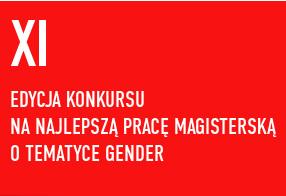 XI Konkurs na najlepszą pracę magisterską 2016/2017